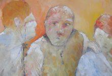 Schilderij mensen