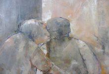 Schilderij knuffel