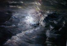 Schilderij zee.
